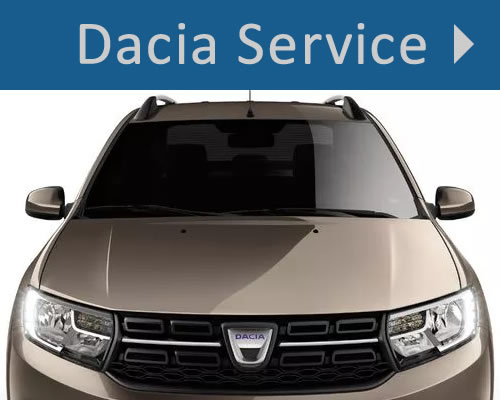 Dacia Service and Parts in Whitchurch, Shropshire near Wrexham, Shrewsbury and Stock-on-Trent