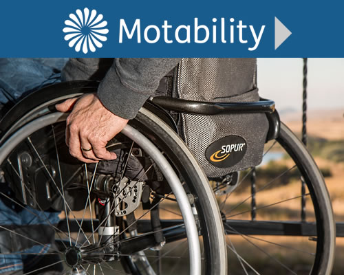 Motability Cars in Whitchurch, Shropshire near Wrexham, Shrewsbury and Stock-on-Trent